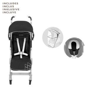 MACLAREN   Techno XT Buggy mit Liegefunktion Black/Silver