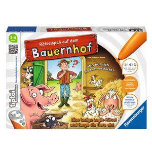 RAVENSBURGER  TIPTOI Rätselspaß auf dem Bauernhof