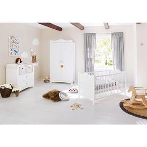 PINOLINO   3-tlg. Babyzimmer Florentina breit