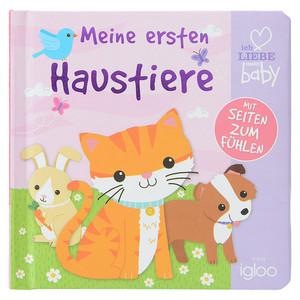 """Baby Fühlbuch """"Meine ersten Haustiere"""""""