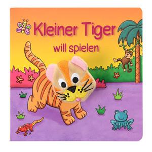 Fingerpuppenbuch Tiger
