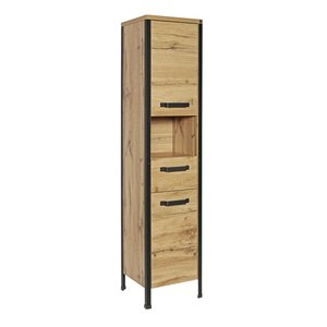 Tom Tailor Hochschrank   Soho Dark Oak