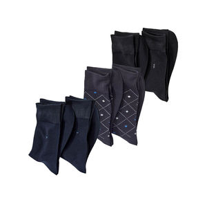 Herren-Business-Socken in verschiedenen Farben, 2er Pack
