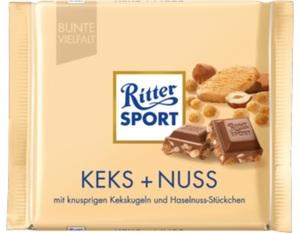 Ritter Sport Keks + Nuss 100 g