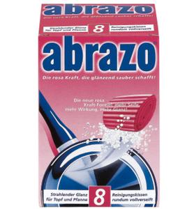Abrazo Topf & Pfanne Reinigungskissen 8er Pk
