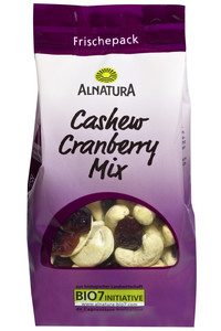 Alnatura Bio Cashew Cranberry Mix 150 g