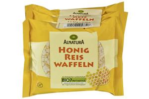 Alnatura Bio Honig Reis Waffeln 3x 32 g
