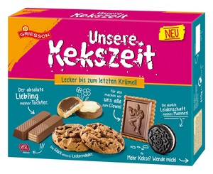 Griesson Unsere Kekszeit 415 g