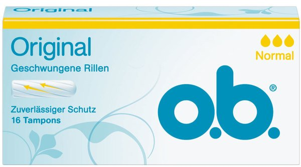 o.b. Original Tampons normal 16 Stk