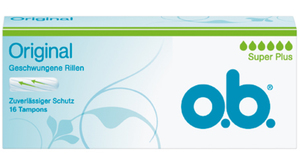 o.b. Original Tampons Super Plus 16 Stk