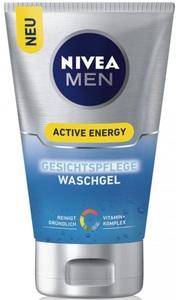 Nivea Men Active Energy Gesichtspflege Waschgel 100 ml