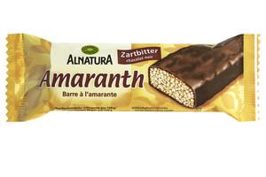Alnatura Bio Amaranth Zartbitter Riegel 25 g
