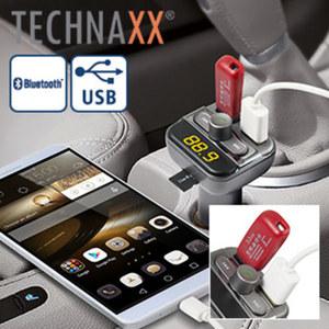 FM-Transmitter mit Freisprechfunktion Spielen Sie Musik von USB-Stick oder MicroSD auf Ihrem Radio ab, Freisprechfunktion mittels Bluetooth vom Handy