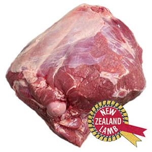 Frische Neuseeland Lammkeule mit Röhrenknochen,  je 1 kg