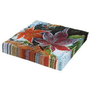 Servietten, Wintermotiv, Blätter, 3-lagig, 33 x 33 cm, 20er-Pack