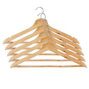 Kleiderbügel, Holz, 44 cm, 5er-Pack