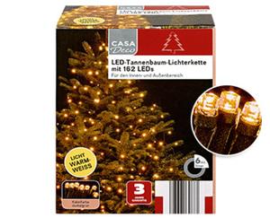 CASA Deco LED-Tannenbaumlichterkette