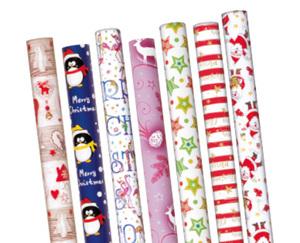 CASA Deco Geschenkpapier Weihnachten