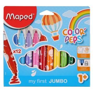 Maped Fasermaler Color Peps, Jumbo, 12er-Set