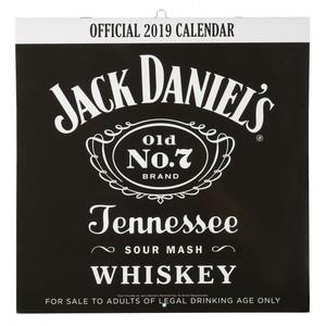 Jack Daniels Kalender, 2019, 30 x 30 cm