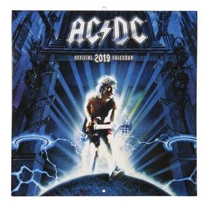 AC/DC Kalender, 2019, 30 x 30 cm
