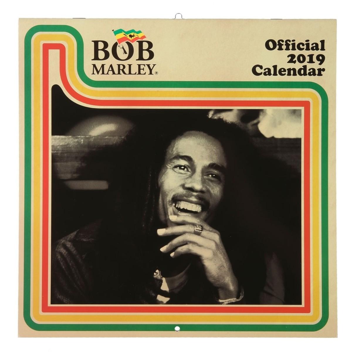 Bild 1 von Kalender Bob Marley, 2019, 30 x 30 cm