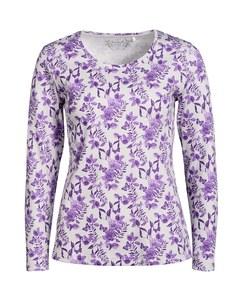 Bexleys woman - mit Rosen bedrucktes Shirt
