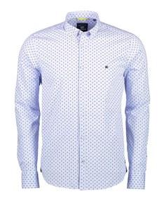 Lerros - Langarmhemd mit Allover Print