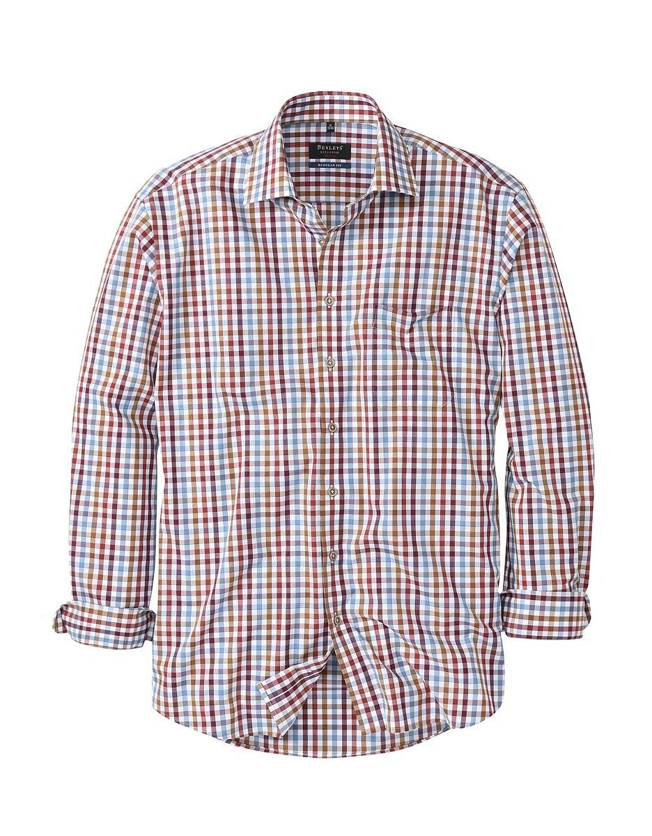 Bild 1 von Bexleys man - Freizeithemd, langarm, kariert