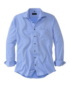 Bexleys Edition - Freizeithemd, langarm, gemustert
