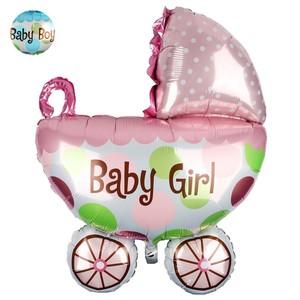 Folien-Luftballon Kinderwagen