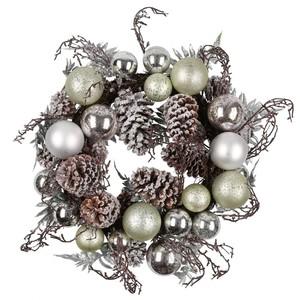 Weihnachtskranz, metallic, 55 cm