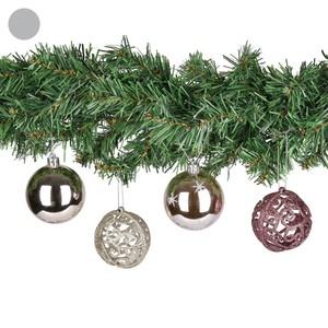 Deko Weihnachtskugeln, 6 cm, 10 Stück, verschiedene Farben