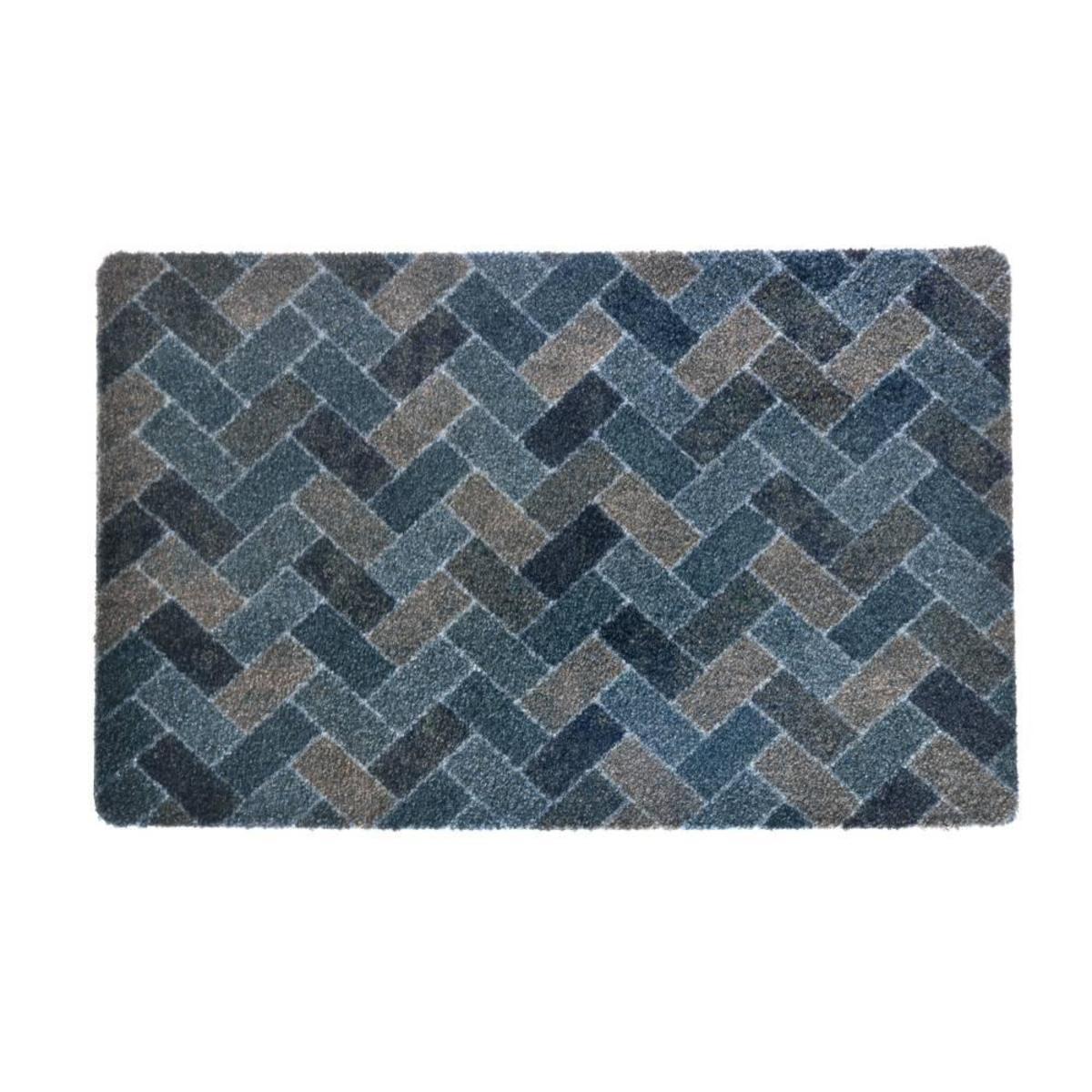Bild 1 von acerto® BELIZE6 Badteppich – waschbarer Badvorleger 40x70 cm