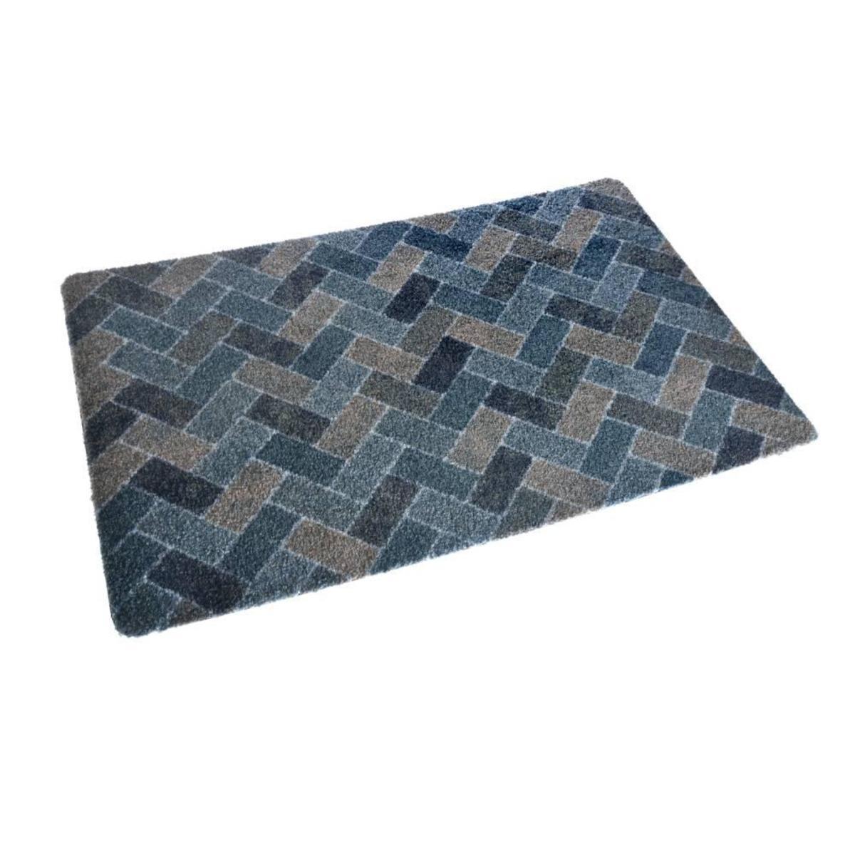 Bild 2 von acerto® BELIZE6 Badteppich – waschbarer Badvorleger 40x70 cm