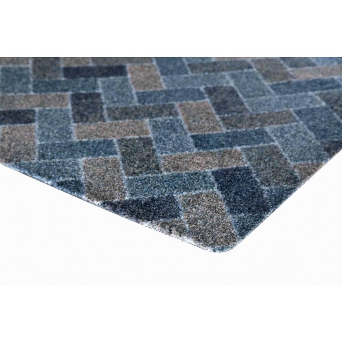Bild 3 von acerto® BELIZE6 Badteppich – waschbarer Badvorleger 40x70 cm