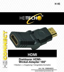 Heitech Drehbarer HDMI-Winkel-Adapter