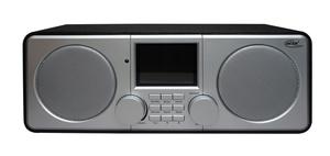 ELTA Internetradio DAB-9000 IR WLAN inkl. Weckfunktion und Wetterinformation