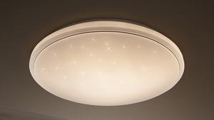 "Prisma LED-Deckenleuchte ""Sternenhimmel"" mit Sternendekor 1-flammig"