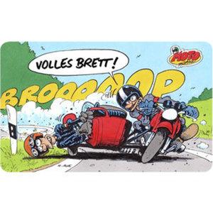 """MOTOmania Frühstücksbrett        """"Volles Brett"""""""