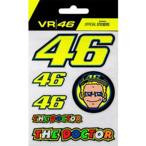VR46 Aufkleber-Set klein