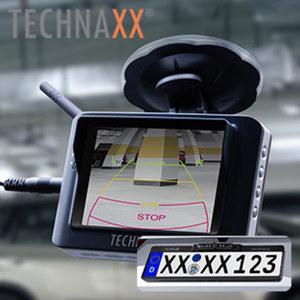 """Funk Rückfahrkamera-System TX-110 • 3,5"""" TFT-LCD Bildschirm (8,89cm) mit 320x240 Pixel • Übertragungsfrequenz 2.4GHz • Empfindlichkeit der Entfernungsmessung ?–85dBm • Stromversorgung DC"""