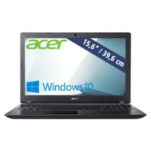 Notebook Aspire 3 (A315-33-C7HB) • HD-Display • Intel® Celeron® N3050 (bis zu 1,6 GHz) • Intel® HD Graphics • USB 2.0, USB 3.0