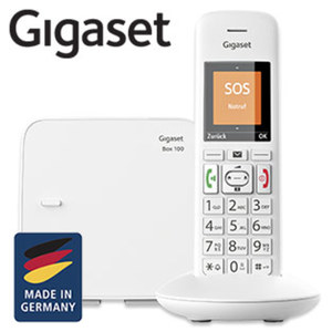 Schnurlos-DECT-Telefon E370 • Telefonbuch für bis zu 200 Einträge • ECO-DECT • SOS-Funktion
