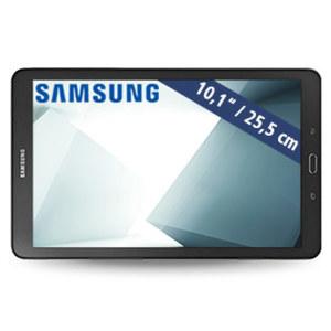 Multimedia-Tablet-PC Galaxy Tab A (SM-T580) • Octa-Core-Prozessor (bis zu 1,6 GHz) • 2 Kameras (2 MP/8 MP) • microSD™-Slot bis zu 200 GB • Android™ 6.0 • schwarz oder weiß