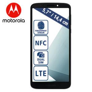 Smartphone Moto G6 Play • 2 Kameras (8 MP/13 MP) • 3-GB-RAM, 32-GB-Speicher • microSD™-Slot bis zu 128 GB • Android™ 8.0