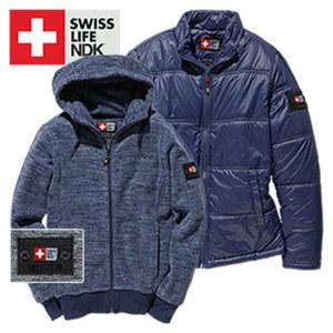 Herren-Jacke oder -Fleecejacke mit Kapuze Größe: S - XXL