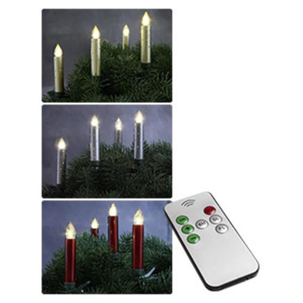 Kabellose Led Christbaumkerzen Mit 20 Kerzen Versch