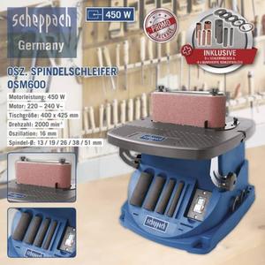 Scheppach Spindelschleifer OSM600
