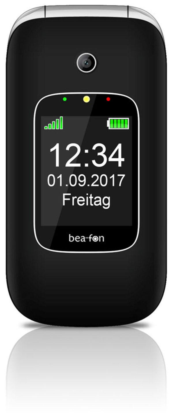 beafon SL590 Schwarz-Silber